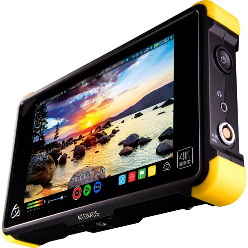 Atomos Shogun Flame 7″ 4K HDMI/SDI Recording Monitor Travel Kit