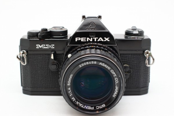 [USED-PUDU] PENTAX MX Film Camera With 50mm F1.4 ASAHI SMC 95%LIKE NEW CONDITION SN:4171672