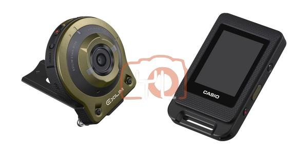 Casio EX-FR10 Digital Camera (Green)