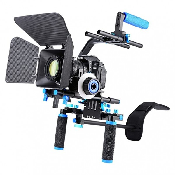 Yelangu D102 Camera Rig Shoulder Mount Stabilizer for DSLR