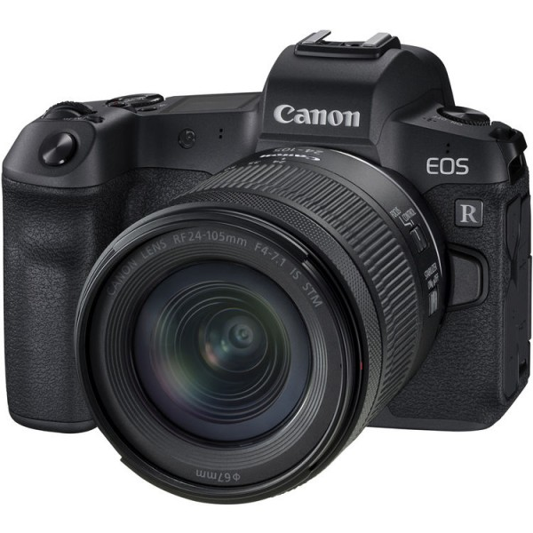 Canon EOS R + RF 24-105mm f/4-7.1 IS STM [Free SanDisk ExtremePRO 64GB SD Card]