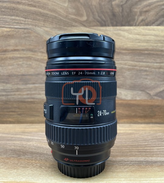 [USED @ YL LOW YAT]-Canon EF 24-70mm F2.8 L USM Lens,90% Condition Like New,S/N:1512898