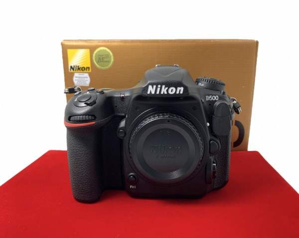 [USED-PJ33] Nikon D500 Body (Shutter Court:3500),98% Like New Condition (S/N:8504380)
