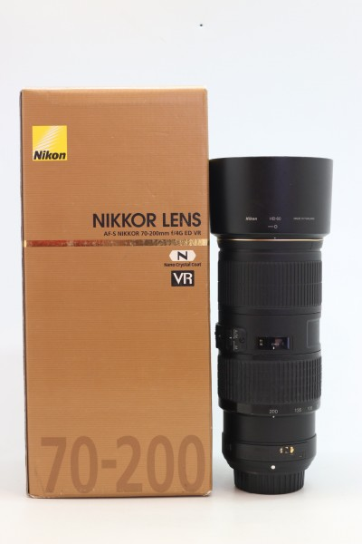 [USED-PUDU] NIKON 70-200MM F4 G AF-S VR N ED 83%LIKE NEW CONDITION SN:82025900