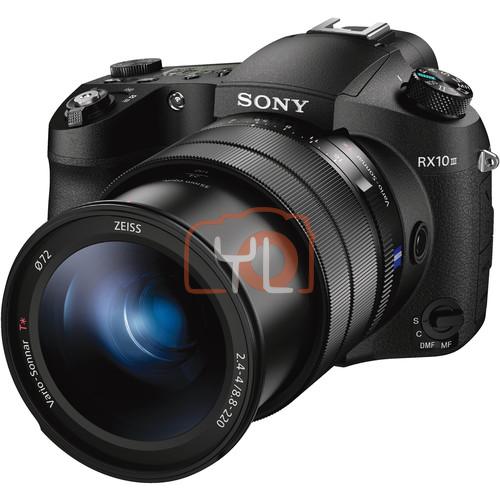 Sony Cyber-shot DSC-RX10 III Digital Camera 64GB SD Card