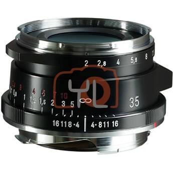 Voigtlander 35mm F2 Ultron Vintage Line Aspherical Type II VM - Black (For Leica M-Mount)