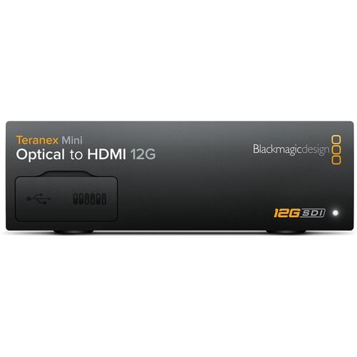Blackmagic Design Teranex Mini Optical to HDMI 12G Converter (Optical Fiber Module Not Included)
