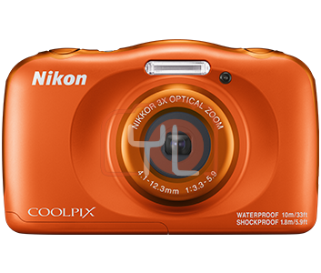 Nikon Coolpix W150 - Orange (Free 16GB SD Card & Camera Case)