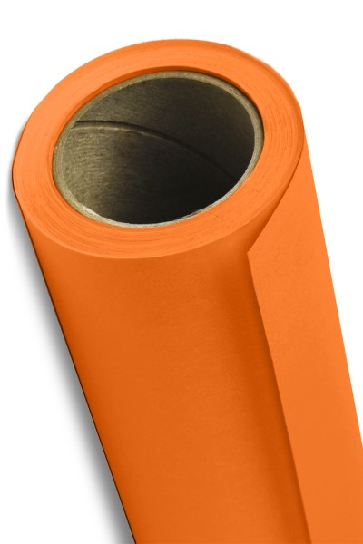 (Available In-Store Purchase Only) Savage Orange Seamless Paper Size A2 1.35x11M (53W x 12yd)