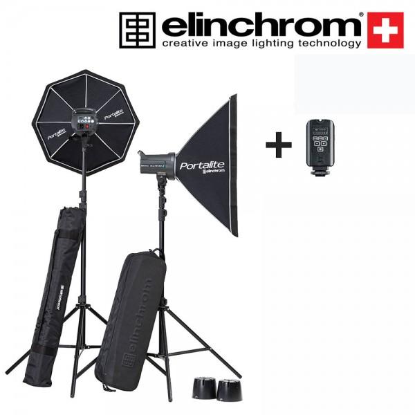 (Special Deal) Elinchrom D-Lite RX One Portalite Set