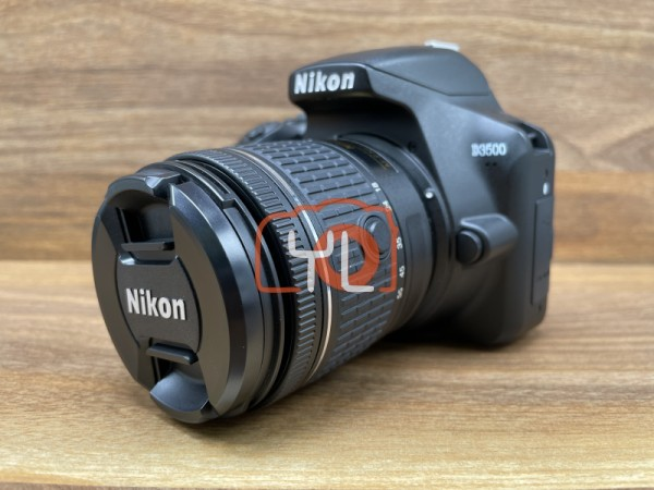 [USED @ YL LOW YAT]-Nikon D3500 Camera with 18-55mm Lens [shutter count 173],99% Condition Like New,S/N:2006335