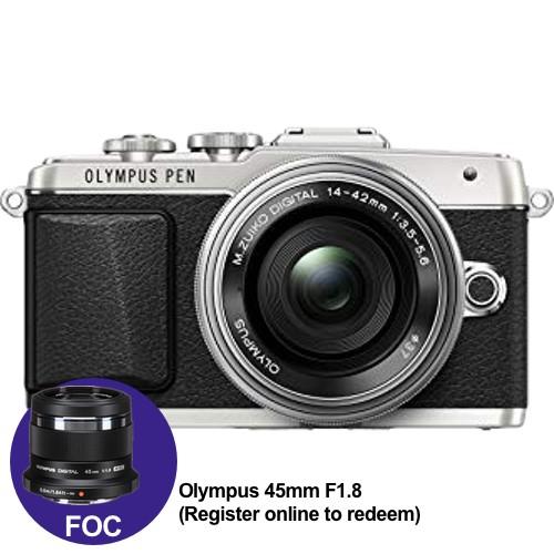 (Year End Promo) Olympus E-PL9 +  M.Zuiko 14-42mm EZ (Black) [Free M.Zuiko 45mm F1.8 + Lexar 32GB 95MB SD Card + Benro Freeshoot 30 Camera Bag]