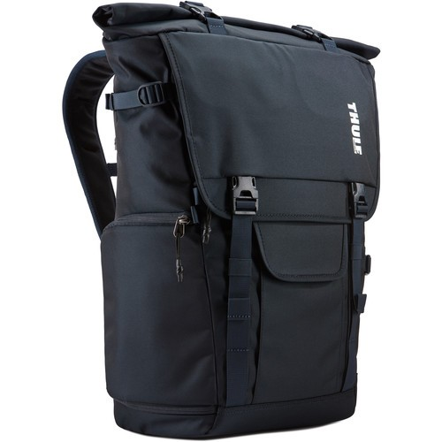 (PREORDER) Thule Covert DSLR Rolltop Backpack (Mineral Blue))