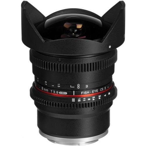 Samyang 8mm T3.8 Cine UMC Fisheye CS II Lens for Sony E Mount