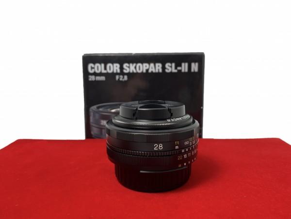 [USED-PJ33] Voigtlander 28MM F2.8 Color Skopar SL-II N (Nikon),95% Like New Condition (S/N:08430108)