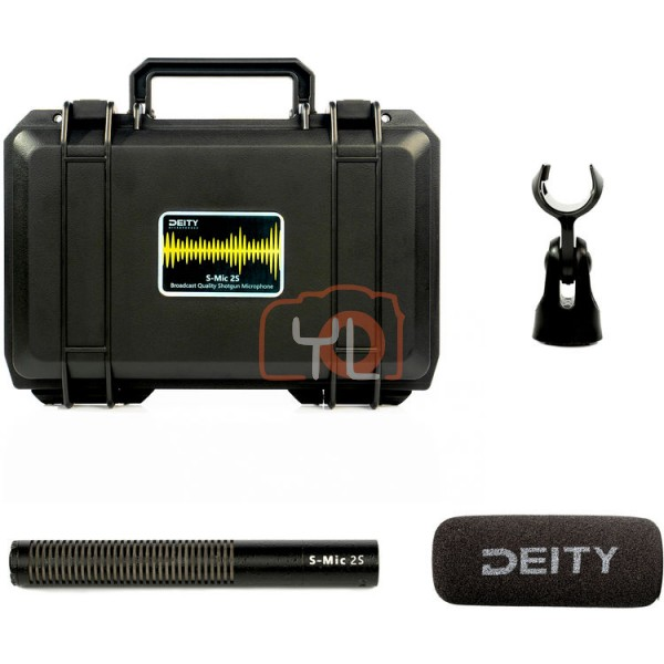 Deity Microphones S-Mic 2S Moisture-Resistant Short Shotgun Microphone