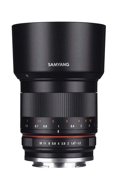 Samyang 50mm F1.2 Lens for Sony E (Black)
