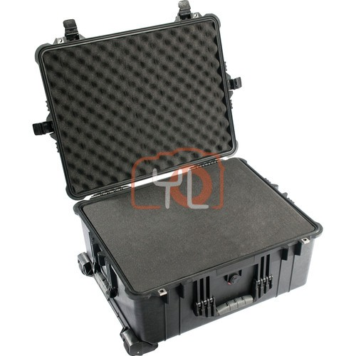 Pelican 1610 Cases with Foam (Black)