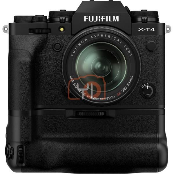 Fujifilm X-T4 - Black W/ VG-XT4 Battery Grip