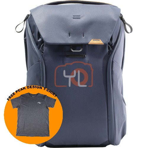 Peak Design Everyday Backpack 30L_Midnight V2 (Free Peak Design T-Shirt)