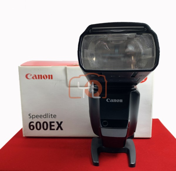[USED-PJ33] Canon 600 EX Speedlite, 90% Like New Condition (S/N:402000718)