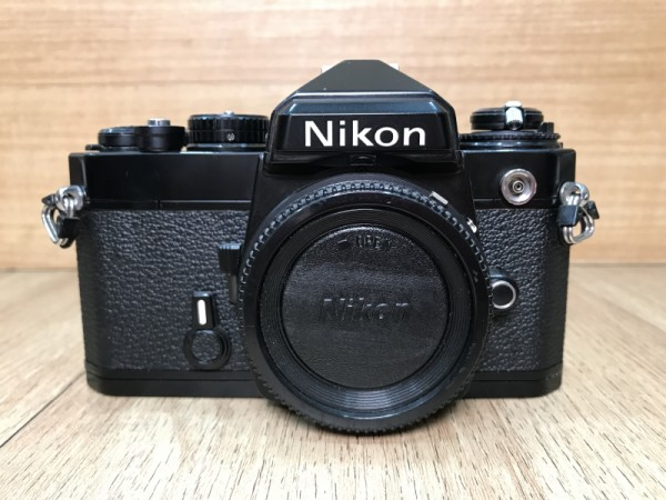 [USED @ YL LOW YAT]-Nikon FE Film Camera Body,90% Condition Like New,S/N:3954526