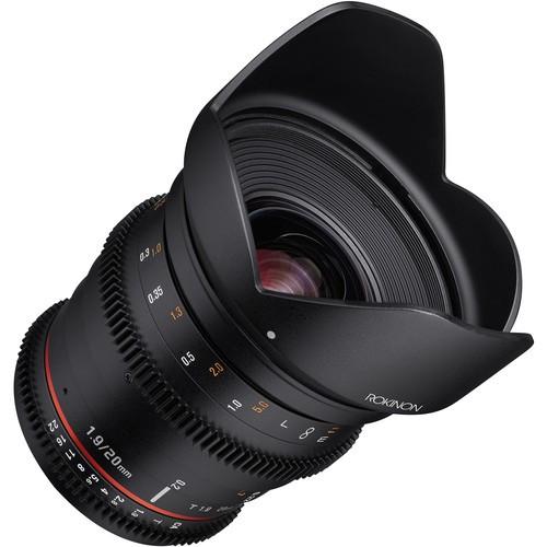 Samyang 20mm T1.9 Cine DS Lens for Canon EF