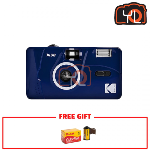 Kodak M38 Film Camera - Blue (Free Kodak ColorPlus)