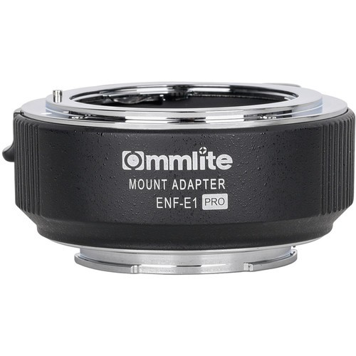 Commlite Electronic Autofocus Lens Mount Adapter for Nikon F-Mount Lens to Sony E-Mount Camera