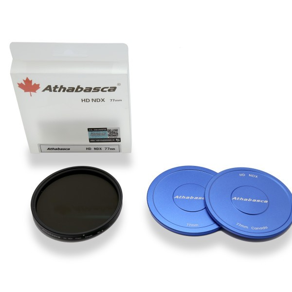 Athabasca 77mm HD NDX Variable Neutral Density Filter