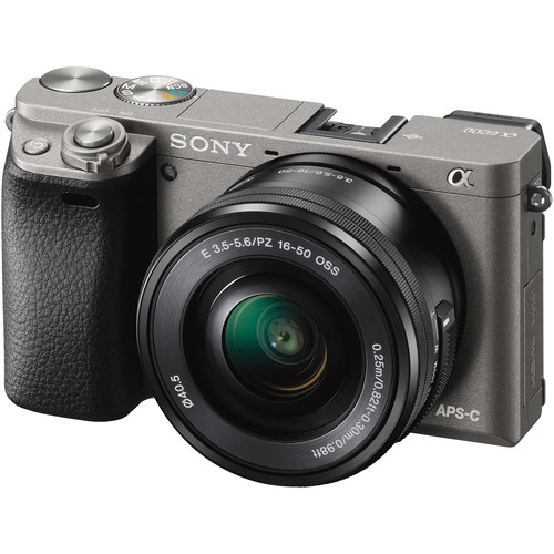 Sony a6000 (Grey) + E PZ 16-50mm F3.5-5.6 OSS [Free 16GB SD Card + NP-FW50]