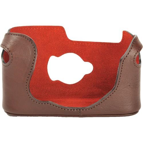 Artisan & Artist LMB-M7 Leather Half Case (Dark Brown)