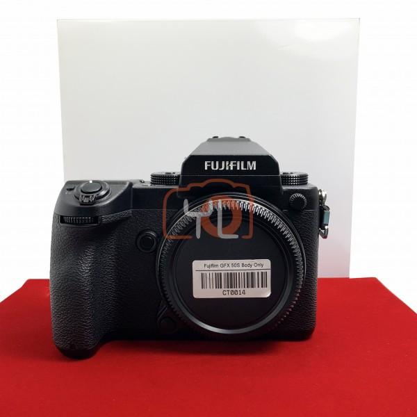 [USED-PJ33] Fujifilm GFX50S Body , 95% Like New Condition (S/N:71010511)