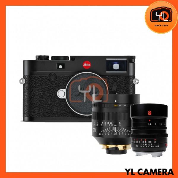 Leica M10 Digital Rangefinder Camera - Black (20000) + 7artisans M 35mm F1.4 + TT Artisan M50mm F0.95
