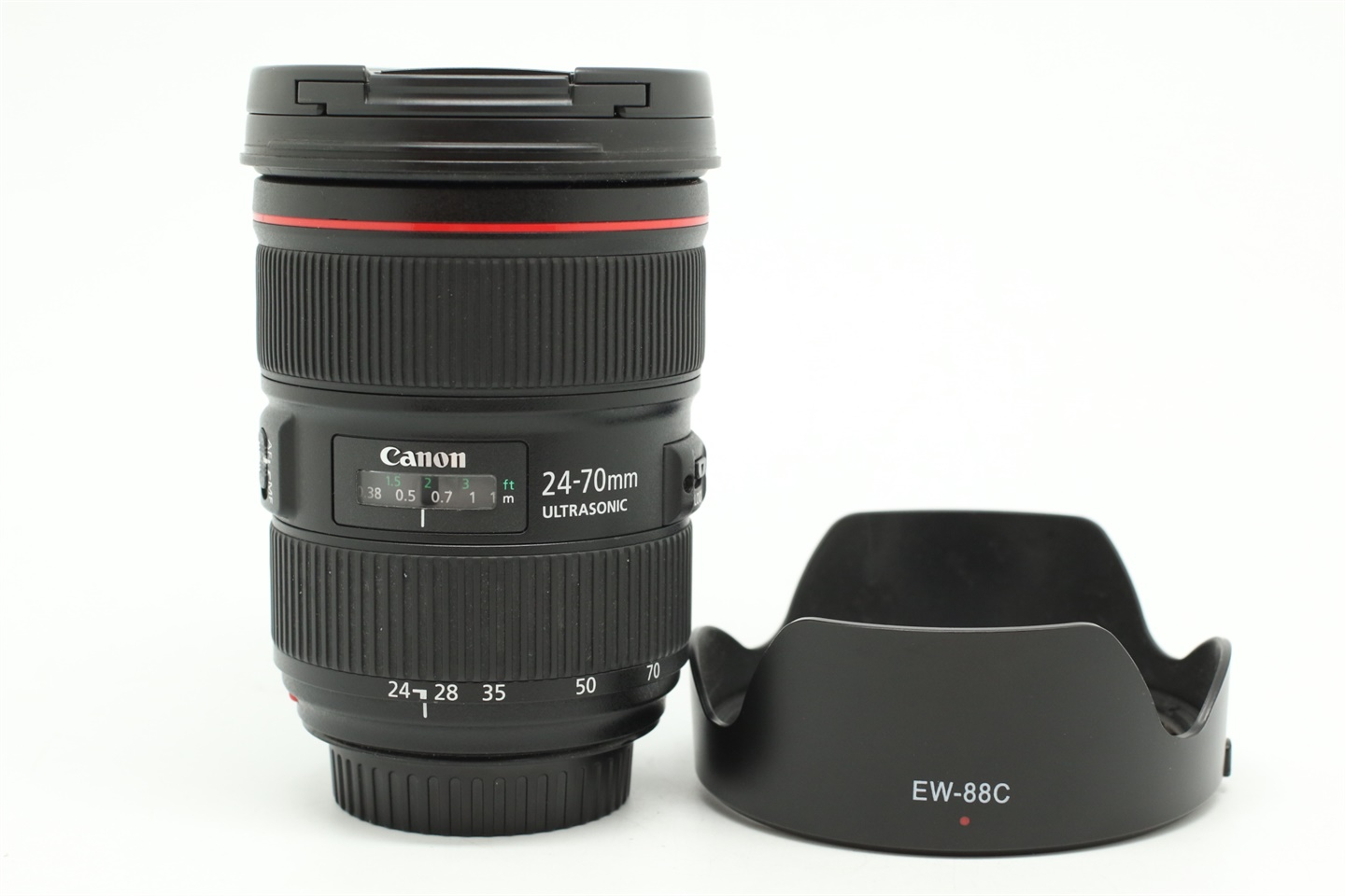 [USED-PUDU] CANON 24-70MM F2.8 L II EF USM LENS 95%LIKE NEW CONDITION  SN:5350003684