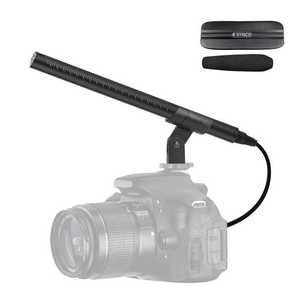(Pre-Order) Synco Audio Mic-D2 Hyper-Cardioid Condenser Shotgun Microphone