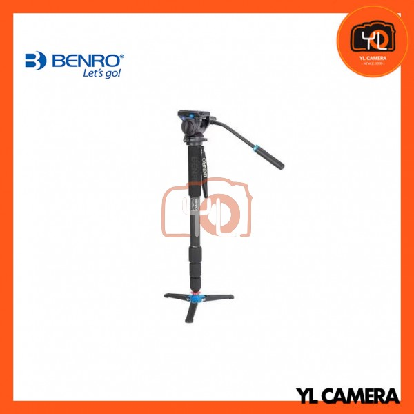 Benro C49TDS4 Carbon Fiber Video Monopod Kit Wiht S4 Video Head