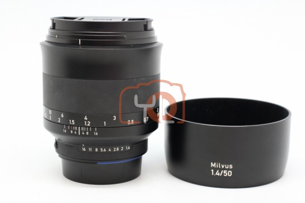 [USED-PUDU] Zeiss 50MM F1.4 Milvus Distagon T* ZF.2 For Nikon 95%LIKE NEW CONDITION SN:51588599