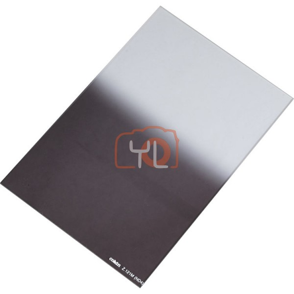 Cokin Z Series Square Filter Z121M Hard-Edge Graduated ND (2-Stop)