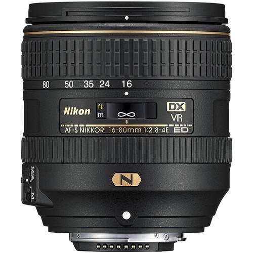 Nikon DX 16-80mm F2.8-4E AF-S VR