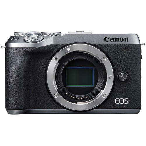 Canon EOS M6 Mark II - Body Only (Silver) [Free 32GB SD Card + Camera Bag]