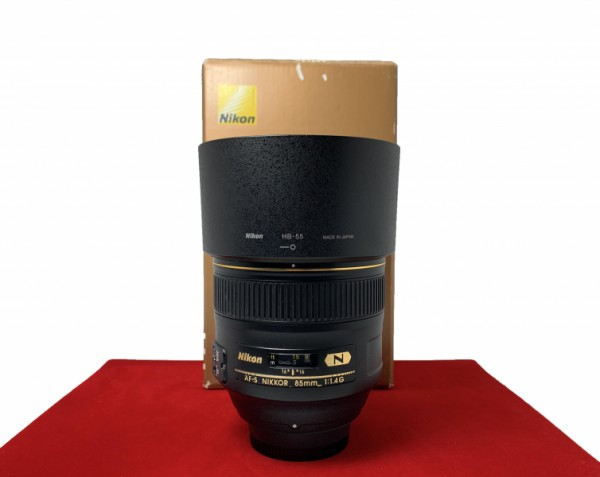 [USED-PJ33] Nikon 85MM F1.4 G AFS, 85% Like New Condition (S/N:205305)