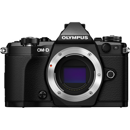 Olympus OM-D E-M5 Mark II - Black (Free Lexar 64GB SD Card 150MB)
