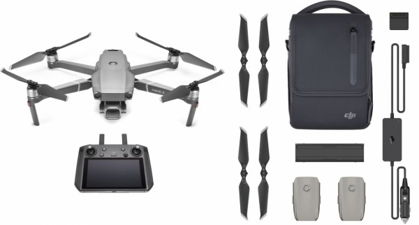 DJI Mavic 2 Pro Fly More Combo Kit W/ Smart Controller