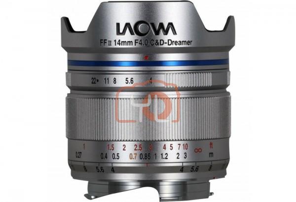 Laowa 14mm F4 FF RL Zero-D - Silver (Leica M)
