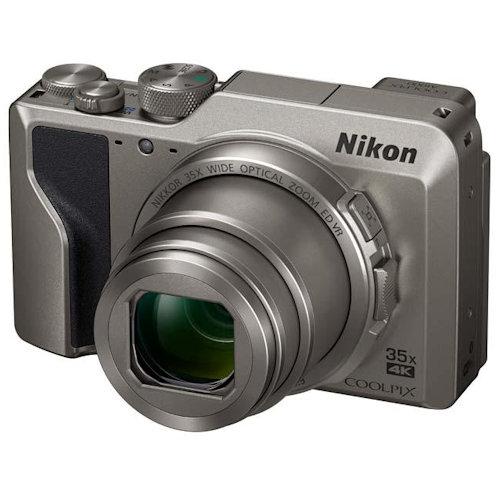 Nikon COOLPIX A1000 [Silver] (Free 16GB SD Card & Camera Case)