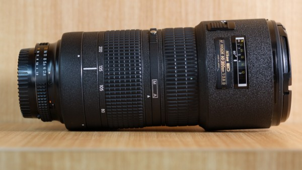 (USED YL LOW YAT)-Nikon 80-200mm F2.8 AF D ED Lens,90% Condition Like New,S/N:734964