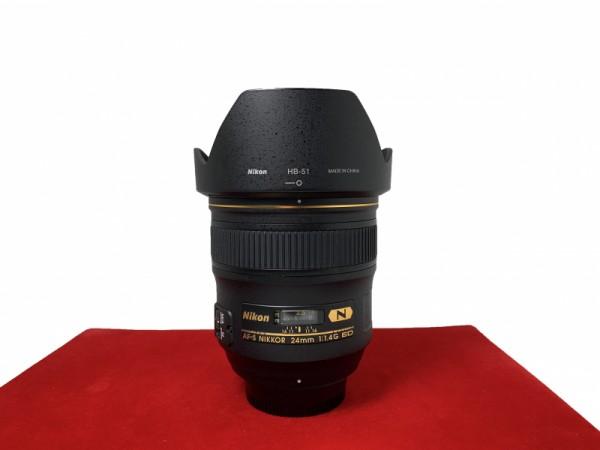 [USED-PJ33] Nikon 24MM F1.4 G AFS, 95% Like New Condition (S/N:209839)