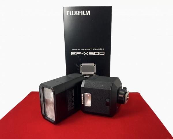 [USED-PJ33] Fujifilm EF-X500 Flash, 95% Like New Condition (S/N:114071)