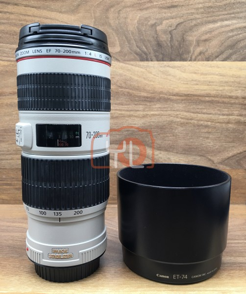 [USED @ YL LOW YAT]-Canon EF 70-200mm F4 L IS USM Lens,90% Condition Like New,S/N:556469